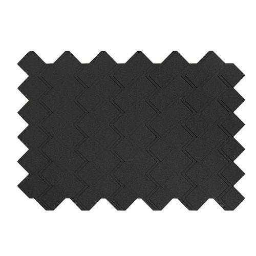 Muratto Organic Blocks - Strips - Step  - Black