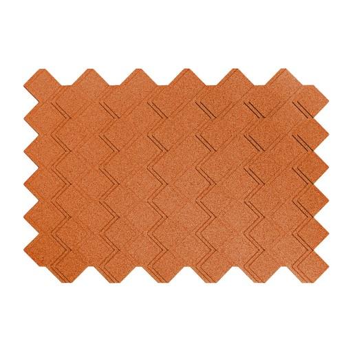 Muratto Organic Blocks - Strips - Step  - Copper