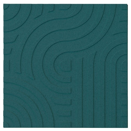 Muratto Organic Blocks - Strips - Wave  - Emerald