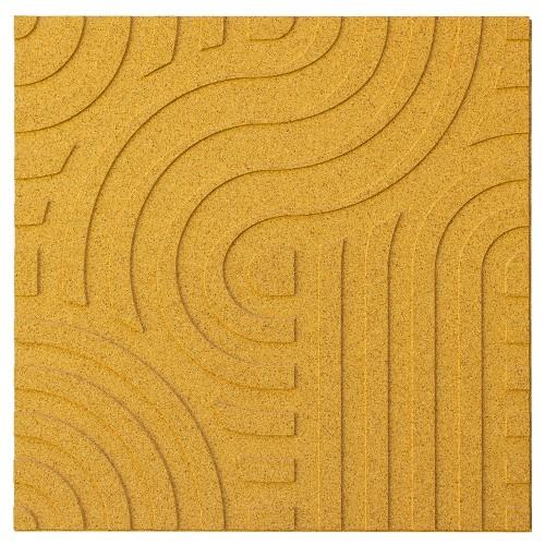 Muratto Organic Blocks - Strips - Wave  - Yellow
