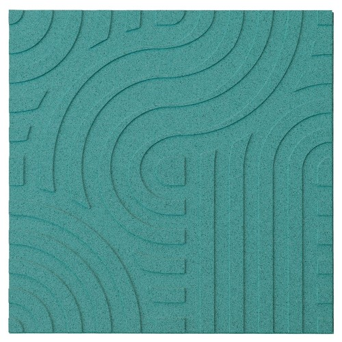 Muratto Organic Blocks - Strips - Wave  - Turquoise
