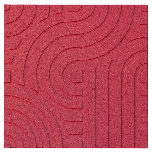 Muratto Organic Blocks - Strips - Wave  - Red