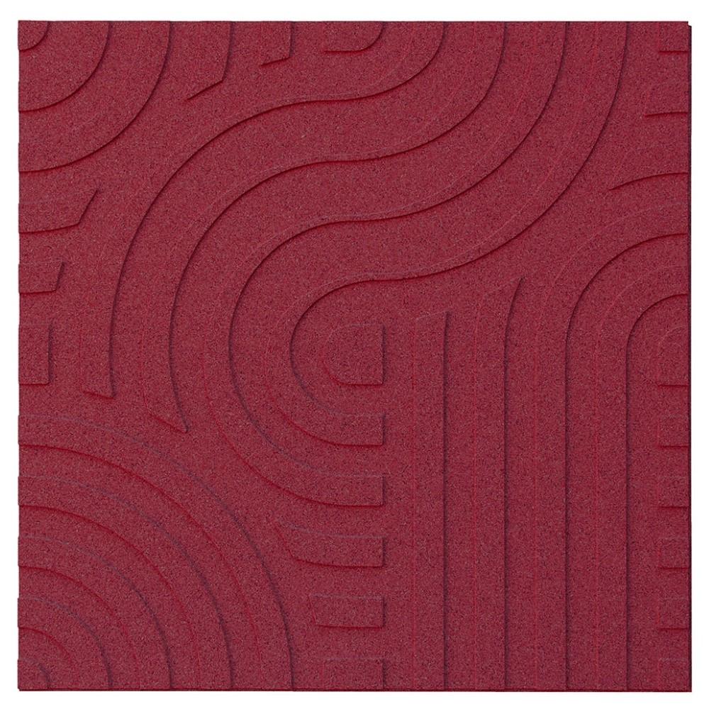 Muratto Organic Blocks - Strips - Wave  - Bordeaux