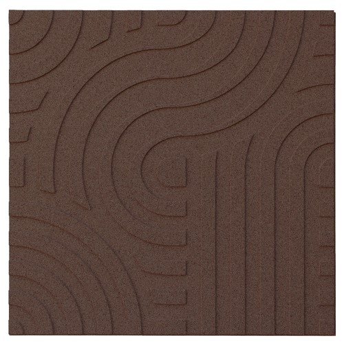 Muratto Organic Blocks - Strips - Wave  - Aubergine