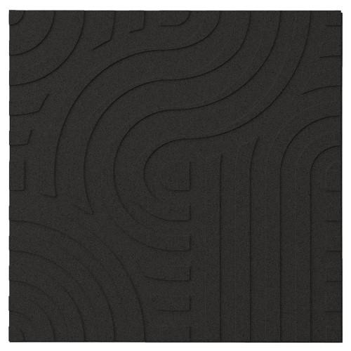 Muratto Organic Blocks - Strips - Wave  - Black