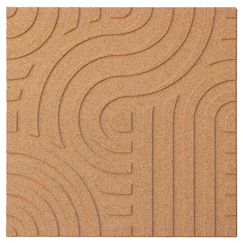 Muratto Organic Blocks - Strips - Wave  - Natural
