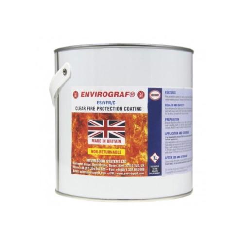 Envirograf Fire Retardant Coating for Cork Wall Tiles