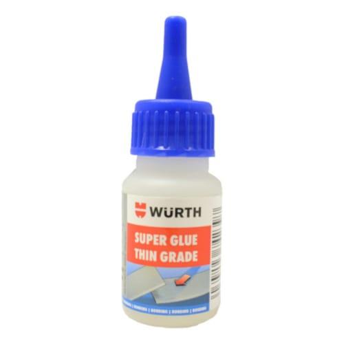 Wurth Cyanoacrylate Super Glue - Thin Grade - 20g