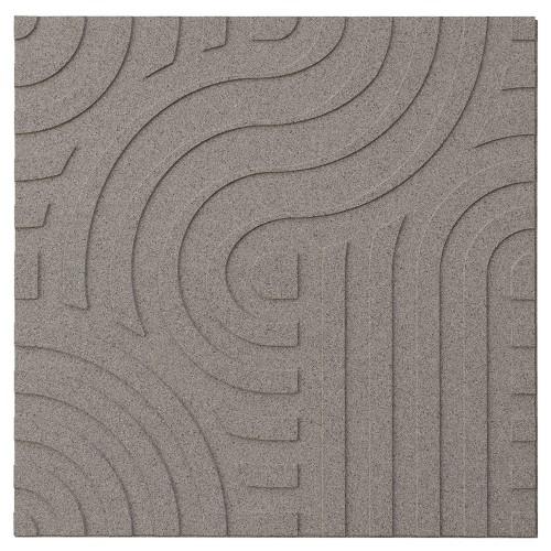 Muratto Organic Blocks - Strips - Wave  - Taupe