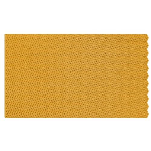 Muratto Organic Blocks - Strips - Zig Zag - Yellow