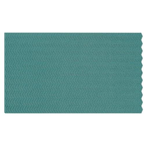 Muratto Organic Blocks - Strips - Zig Zag - Turquoise