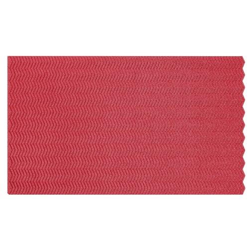 Muratto Organic Blocks - Strips - Zig Zag - Red