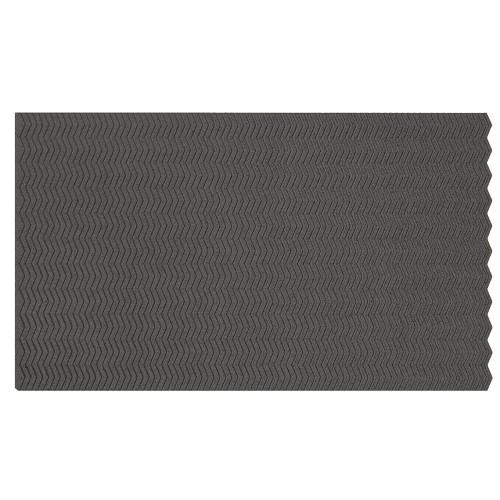 Muratto Organic Blocks - Strips - Zig Zag - Grey