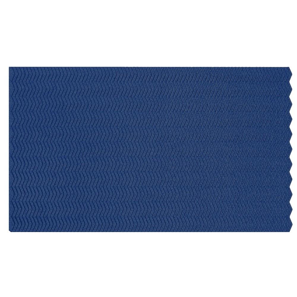 Muratto Organic Blocks - Strips - Zig Zag - Blue