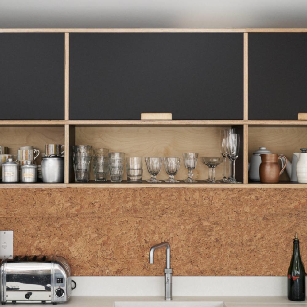 Puretree Cork Wall Tiles - Rustic Natural - 600 x 300 x 3mm