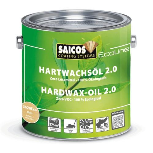 Saicos Ecoline Hardwax Oil 2.0 - Matt (3620Eco)