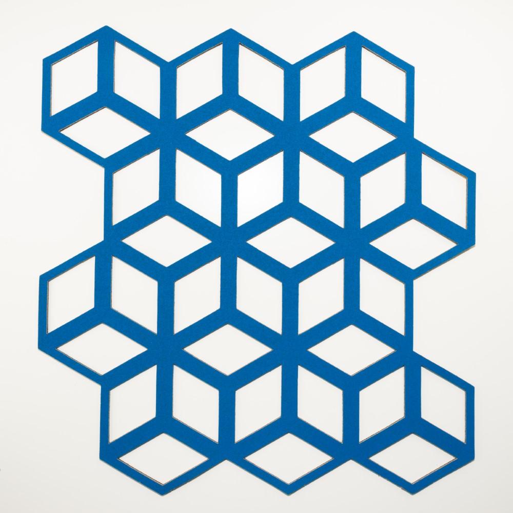 Muratto Pattern Tiles - Cinetic - Matt Cyan