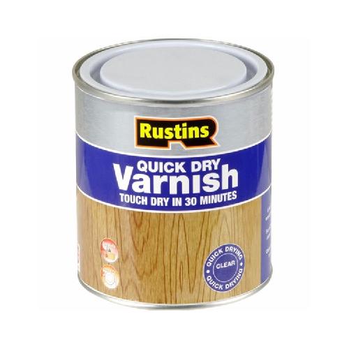 Rustins Quick Dry Varnish - Matt - Clear